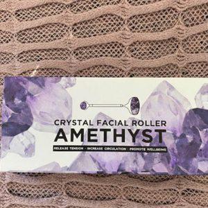 Amethyst Quarts Crystal Facial Roller