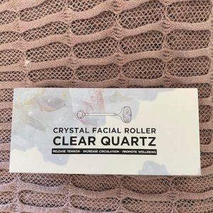 Clear Quarts Crystal Facial Roller